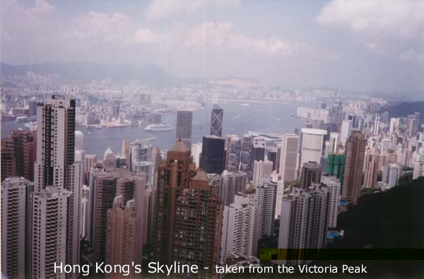 Hong Kong's Skyline from the Victoria Peak